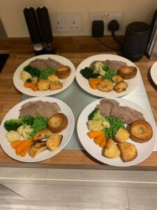Elderly Watford home care meals
